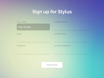 Sign-up Form
