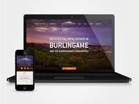 Burlingame Properties Web + Mobile design