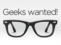 We are hiring geeks campaign!