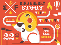 King Cherry Stout