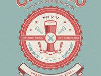Chicago's craft beer week poster