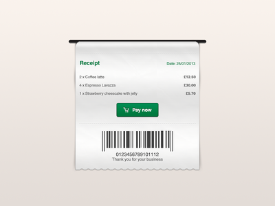 Download Receipt Freebie
