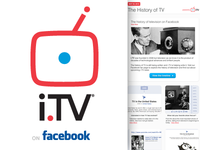 i.TV & The History of TV on Facebook