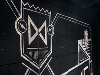 Chalk Wall Illustration