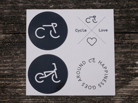 CycleLove Stickers