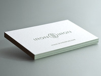 Iron to Iron Business Cards