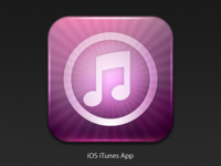 iOS iTunes Icon