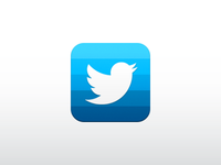 my concept Twitter iOS icon