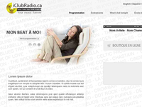 Iclubradio.ca Web Design again