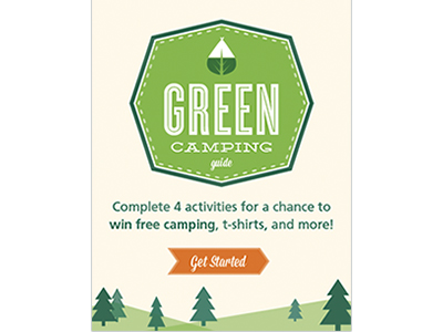 Green Camping booklet
