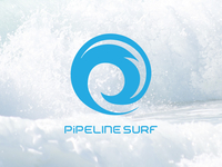 Pipeline Surf Logo