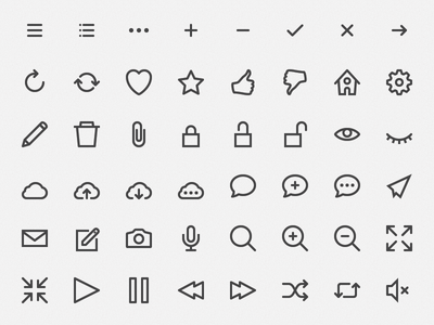 Download Hicons, Free Outline Icons