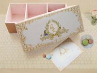 Baby Clarine's Announcement Card & Box
