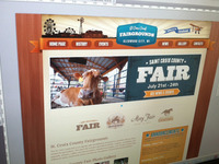 St. Croix County Fairgrounds - Website Design