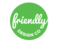 Friendly Design Co. Logo 4