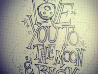 To The Moon sketch