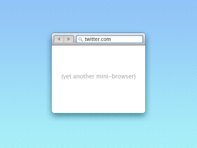 Twitter-mini-browser