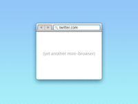 Yet Another Mini-Browser