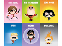 Kawaii Incredibles