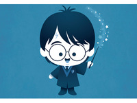 Kawaii Harry Potter