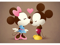 Mickey & Minnie - The Kiss