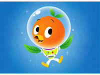 Orange Bird Lightyear