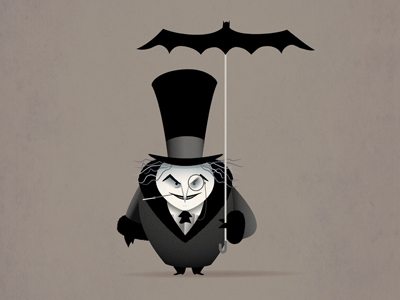 The Penguin - Batman Returns by Jerrod Maruyama