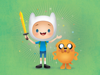 Jake and Finn - Adventure Time