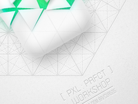 [ Pxl : Prfct ] workshop poster