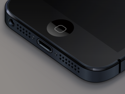 Download Truly vector iPhone .sketch