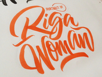Riga Woman Logo