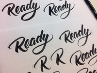 Ready logo process