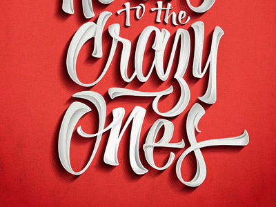 Dribbble here s crazy ones by joluvian
