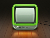 TV icon for iOS