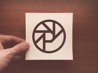 "Another ""Panic sounds"" logo. Printed on a cartridge paper"