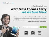 New WordPress Themes Club