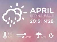 April Showers UI