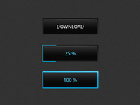 Download Button Concept