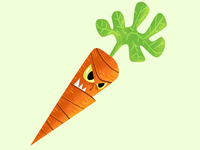 How about a vengeful carrot?