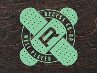 Recess CO-OP Badge