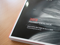 2013 Product Catalogue