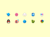 little icons , )
