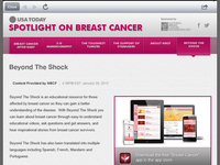 Spotlight on Breast Cancer USA Today