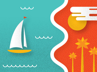 Cannes France Illustration