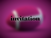 Invitation to giveaway