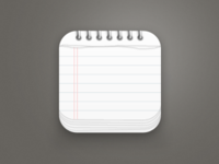 Notepad App Icon