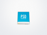 Hard Drive Icon [PSD]