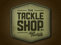 Tackle shop badge
