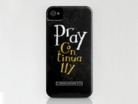 Pray Continually Iphone