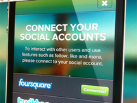 Connect Your Social Accounts